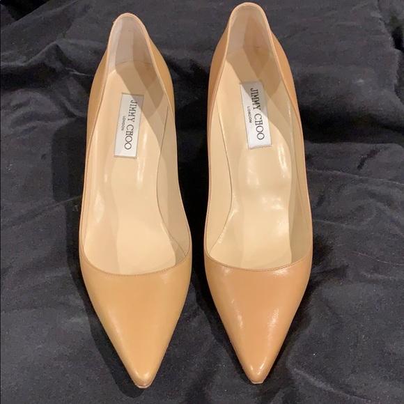 8bcfacf33ff3 Jimmy Choo Shoes - Jimmy Choo nude heels